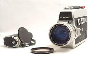 @ Ship in 24 Hours @ Rare @ ELMO Super 106 Super 8 Film Movie Camera 8-50mm f1.8
