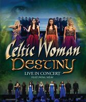 CELTIC WOMAN - DESTINY : LIVE IN CONCERT NTSC All Region DVD *NEW*