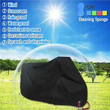 Waterproof Outdoor Motorbike UV Protector Rain Dust Bike Motorcycle Cover XXL