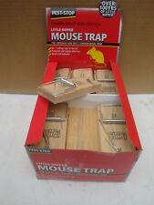 BOX X 30 LITTLE NIPPER WOODEN MOUSE TRAPS