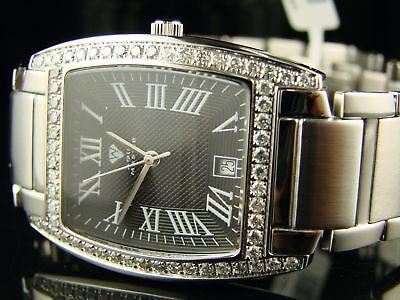 Aqua Master Jojo Joe Rodeo W 310   Diamond Watch 2.1 Ct