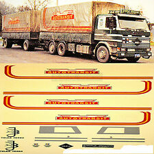 Scania Kristianstads Thermo transporte a partir de coldsped 1:87 Truck decal camiones abziehbil