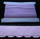 Elastic Lilac Facing - 10mm - 5 metres