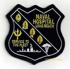 US NAVAL HOSPITAL LONG BEACH DOC PATCH CORPSMAN PIN UP US MARINES NAVY NURSE VET