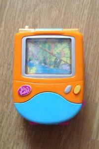 Vintage 2000 Polly Pocket Trendy Tronics TV Playset