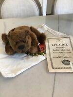 Effanbee  Bear Essentials  by Jackie Melerski Mohair Artisan Li'l Griz