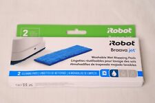 IRobot Braava Jet Washable Wet Mopping Pads 2 Cleaning Pads - NEW