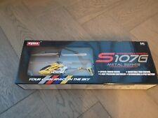 NEW Syma 2nd Edition S107 S107G New Version Helicopter Yellow Kids FREE DELIVERY