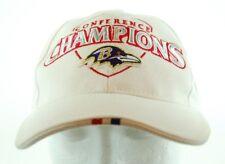 b8a9c627b Baltimore Ravens NFL AFC Conference Champions Super Bowl XXXV Strapback Cap  Hat
