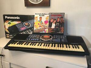 Boxed PANASONIC SX KC200 MIDI Keyboard