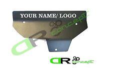 Exhaust Manifold Heat Shield Cover Mitsubishi Evolution 8 9 EVO YOUR NAME / LOGO