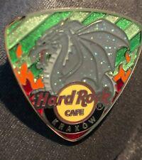 Hard Rock Cafe *KRAKOW, POLAND* GLITTERY DRAGON ON GUITAR PICK LIMITED EDITION