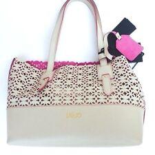 handbags borsa Liu-Jo  shopping bi-color  M.Galena pelle/leather