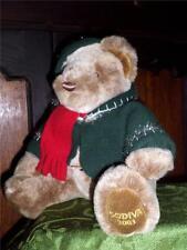 Godiva Chocolates Christmas Bear 2003 Super Soft n Cuddly