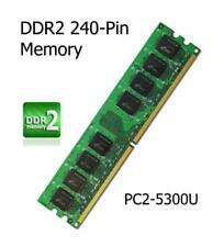 Mémoires RAM pour carte PC, 2 Go par module