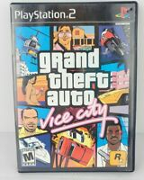 Grand Theft Auto Vice City Sony Ps2 PlayStation 2 + Tourist Guide