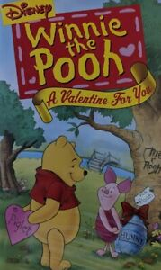 📼 Disney's Winnie the Pooh A Valentine For You (VHS 2001) FAMILY ANIMATED ❤️