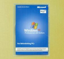 New Windows XP Professional x64 Edition Full Version Disc COA Product Key 64 bit