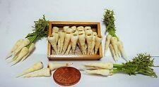 1:12 TH in legno vassoio di Pastinaca +3 i dollhouse Miniatures