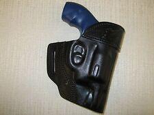 S&W J FRAME revolver holster, shaped leather holster, owb belt holster