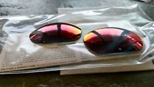 OAKLEY XX X-METAL PRIZM RUBY AUTHENTIC REPLACEMENT LENSES OEM CUSTOM CUT