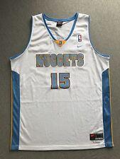 Denver Nuggets Nike Jersey 15 Carmelo Anthony Swingman Throwback Sewn Men XL +2