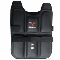 Weighted Vest Gym Running Fitness Sports Training Weight Loss Jacket 15KG/20KG