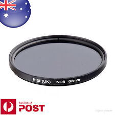 62mm NEUTRAL DENSITY ND8 ND 8 Filter - Auspost - QUALITY - Z528