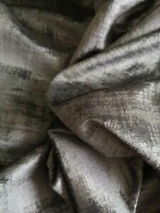 Beautiful Black Velvet Soft Furnishings Fabric BN NOS 146  X 148cm clothing etc