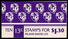 "PALAU 13a (Mi13Di) - Marine Life ""Giant Clam Booklet of 10"" (pa32711)"