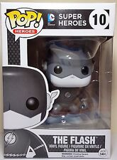 Funko Pop The Flash Black & White # 10 Super Heroes Vinyl Figure New