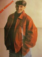 Jonathan Knight, New Kids on the Block, Four Page Foldout Poster