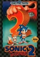 Complete Sonic The Hedgehog 2 Original Sega Genesis Game