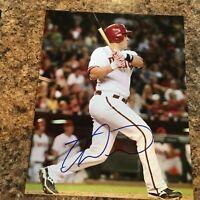 Miguel Montero Signed 8x10 Photo Chicago Cubs Arizona Diamondbacks Autograph