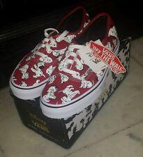 vans disney dalmatians size 4.5 men/size 6 women skate shoes for $250