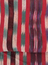 "Guatemalan Fabric handwoven 34"" WIDE 1.8 yards"