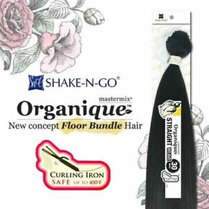STRAIGHT - SHAKE-N-GO ORGANIQUE MASTERMIX SYNTHETIC BUNDLE WEAVE