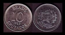 ★★ BRESIL ● 10 CRUZADOS 1987 ● E6 ★★