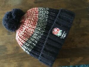 england rugby woolly hat