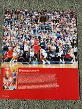 MICHAEL JORDAN CHICAGO BULLS JUNE 14 1998 MAGAZINE ADVERTISEMENT PRINT AD