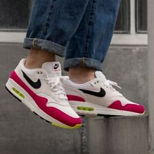 Nike Air Max 1 White Pink Black Uk Size 12 Eur 47.5 AH8145-111