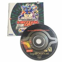 Virtual-On: Oratorio Tangram Cyber Troopers (Sega Dreamcast, 2000) Disc & Manual