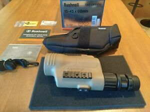 Bushnell LEGEND TACTICAL - T-SERIES SPOTTING SCOPE 15-45X60 with Mil reticle