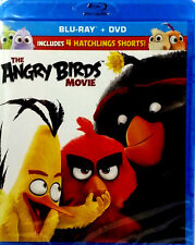 The Angry Birds Movie (Blu-ray/DVD, 2016, Includes Digital HD) +Ships Fast + New