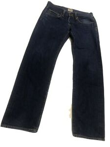 Edwin Men's ED-55 Relaxed Tapered Blue Selvedge Denim Jeans, Size 32W 34L