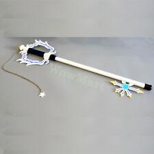 Anime Cosplay Kingdom Hearts Oath Keeper Metal Key Blade Replica Sword - White
