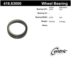 Wheel Race-Premium Bearings Centric 416.63000