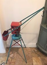 Large 1950s TRI-ANG Vintage Toy Crane RARE Collectable Working Excellent