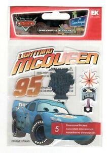 EK Success Stickers LIGHTNING McQUEEN DISNEY CARS Dimensional Scrapbooking SD32