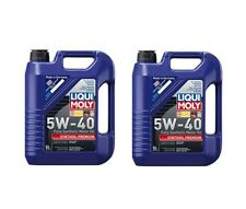 10-Liters Premium Lubro Moly 5W-40 Synthoil Full-Synthetic Engine Motor Oil 2041